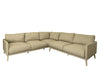 THE 'EASY' OUTDOOR CORNER SOFA IN TAUPE