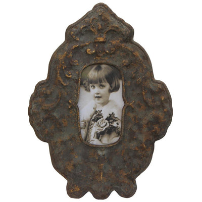 IRON PICTURE FRAME-Default-BisqueTraders