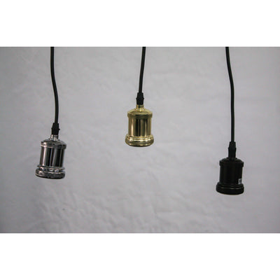 BARE BULB LAMPHOLDER GOLD-Default-BisqueTraders