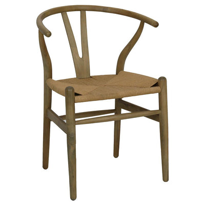 WISHBONE CHAIR/OAK-Default-BisqueTraders