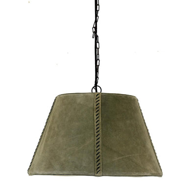 LEATHER CONE SHAPED LIGHT-Default-BisqueTraders