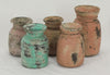 ASSORTED OLD WOODEN POTS-Default-BisqueTraders