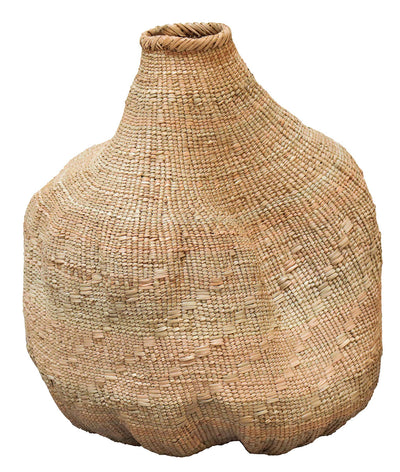 ORGANIC SHAPED GOURD BASKET ME-Default-BisqueTraders