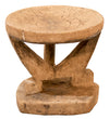ANTIQUE AFRICAN STOOL LIGHTER COLOUR, SMALL
