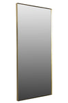 FLYNN RECTANGULAR MIRROR, BRONZE