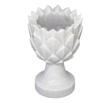Marble Pineapple Pot