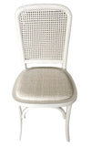 ANTON SIDE CHAIR, WHITE