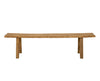 Simple Elm Bench Seat, Antique Natural
