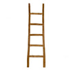 Wooden Decorative Ladder, Antique Natural