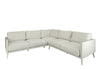The 'Easy' Outdoor Corner Sofa In White Sunbrella