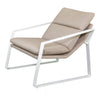 """Coral"" Outdoor Single Fabric Recliner, Taupe"