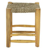 Low Seagrass Stool, Natural