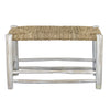 Low Seagrass Bench, Whitewashed