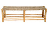 Long Seagrass Bench, Natural