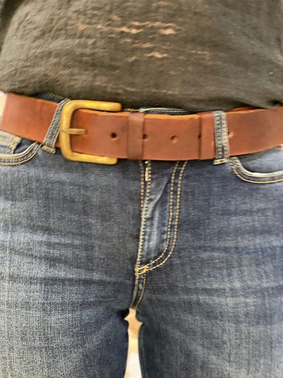 SIMPLE BELT TAN