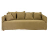 KAHLIA THREE SEATER SOFA WHEAT