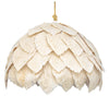 COTTON LEAF PENDANT, SHORT