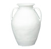 Terracotta Pot, White