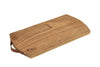 Old Wooden Chopping Board with Strap Leather Handle