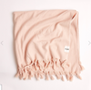 VINTAGE WASH BATH SHEET DUSTY PINK