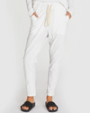 THE SLUB LOUNGE PANT - WHITE