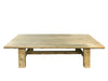 Antique Coffee Table, Bleached Pine