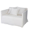 KHALIA SINGLE SEATER SOFA WHITE