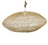 SQUAT RATTAN PENDANT NATURAL