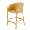 RATTAN TUB BAR STOOL