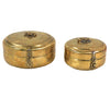 BRASS CHAPATI BOX