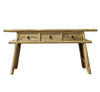 RECYCLED ELM ORIENTAL CONSOLE