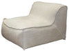 Lorenzo Single Seater Slip Cover Beige