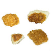 ASSORTED CITRINE CRYSTAL CLUSTERS