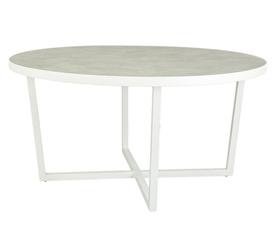GRETA OUTDOOR ROUND DINING TABLE