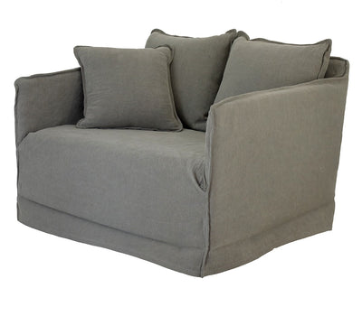 KHALIA SINGLE SEATER SOFA TAUPE