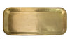 LARGE BRASS RECTANGULAR TRAY WITH ANTIQUE BRASS FINISH