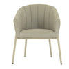 GRETA DINING CHAIR IN TAUPE SUNBRELLA