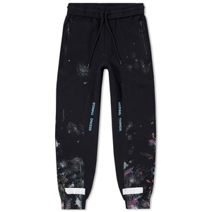 OFF-WHITE Diagonal Galaxy Brushed Sweatpants