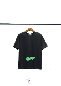 Vill rabatt Off White Green OFF letter logo
