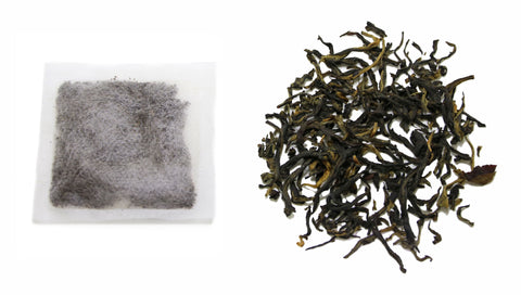 teabag vs. loose leaf