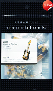 Guitarra Electrica Golden Nanoblock