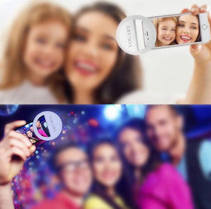 Aro de Luz Led Recargable para Fotos y Videos Selfie Celular Tiktok Youtube Instagram