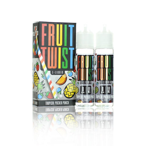 Lemon Fruit Twist | Tropical Pucker Punch | 120ml | Vape Juice