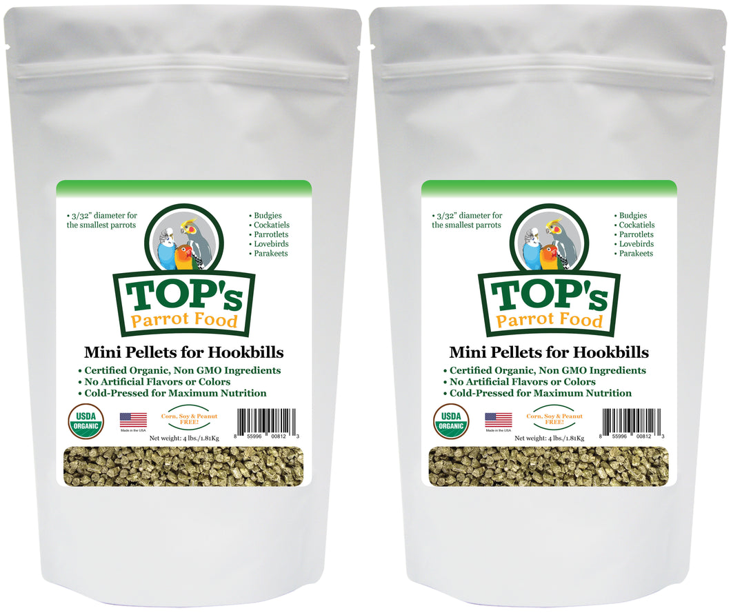 4 lb. Mini Pellet Two-Pack (includes shipping)