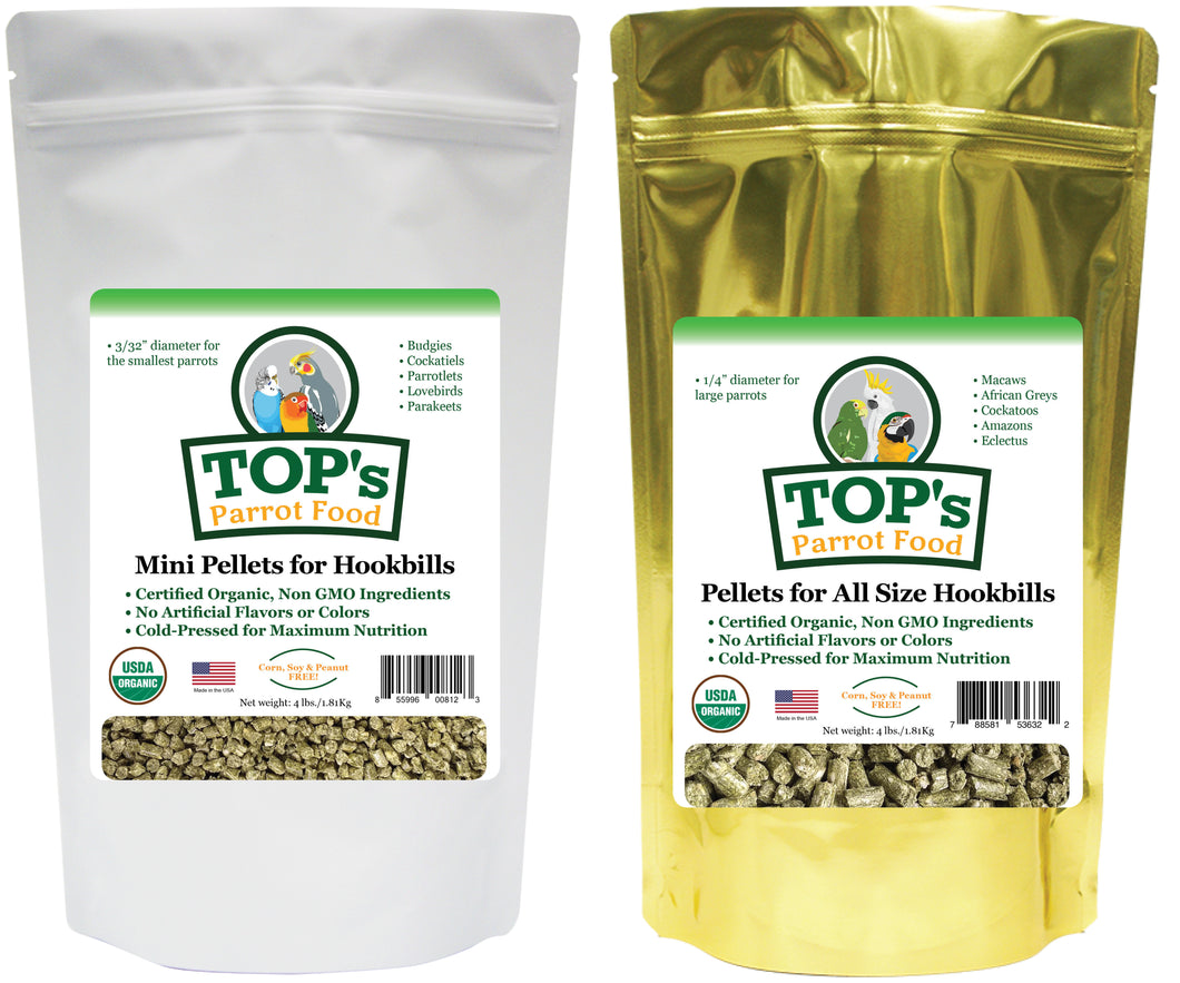 Mini and Large Pellet Bundle (includes shipping)