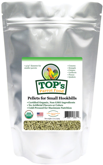 TOP's Small Parrot Pellets