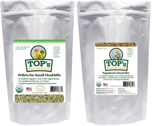 Small Bird Pellet & Seed Two-Pack (includes shipping)