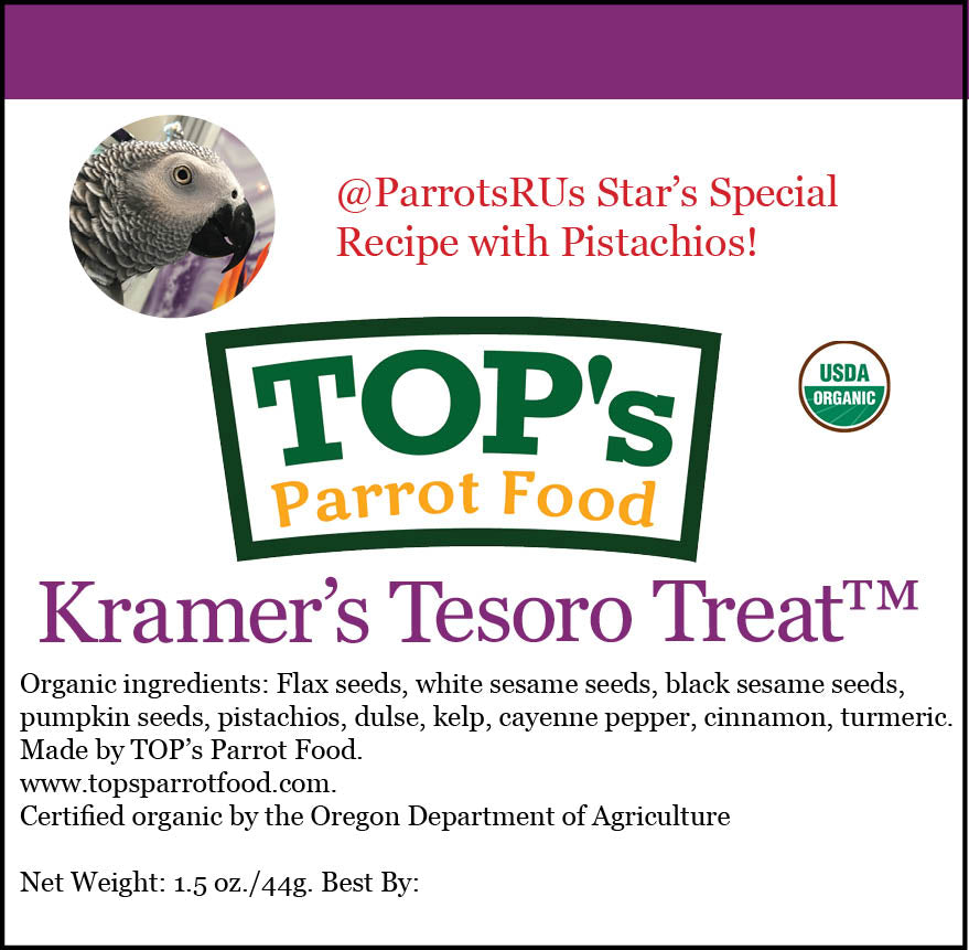 NEW! Kramer's Tesoro Treat 3-Pack Bundle (includes shipping)