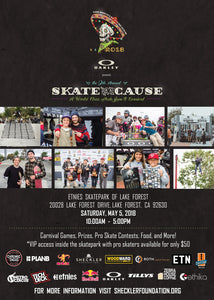 Oakley Presents the Sheckler Foundation's 9th Annual Skate for a Cause