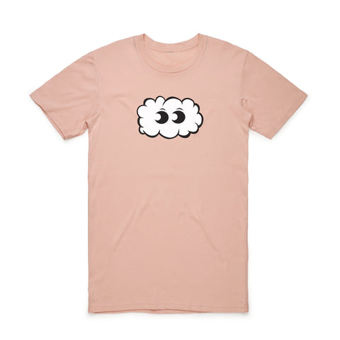 CLOUD NINE TEE (SALMON)